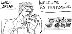 WELCOME TO ROTTEN RONNIE'S by ItsPapaSatan