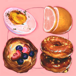 4 round foods by Vetyr