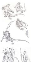 Creatures by krigg