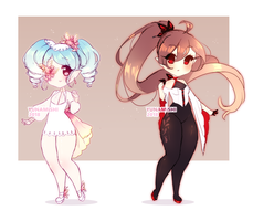 Butterfly themedAdopts|25 Usd|PAYPAL|CLOSED by Yunamishi