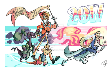Onwards to 2017! by Rayish