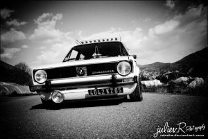 VW Golf Mk1. by Zazaka