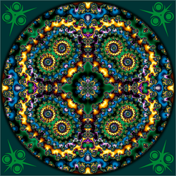 Waiting for spring to arrive Mandala by ivankorsario