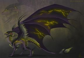 Dragon Adoptable. New Species. AUCTION. CLOSED. by Neytirix