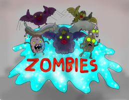 Zombies, they're filthy... by KuddlyFatality