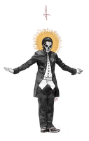 that one skeleton pope by faemetery