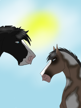 Gemini and Timber: Sunny days by Akash-Studios