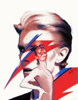 David Bowie by annasainz