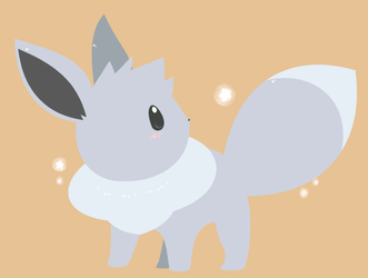 Commission - Shiny Eevee by drill-tail