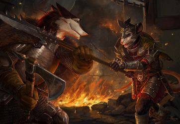 Meanwhile in Mordheim by AlsaresLynx