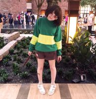 Chara from Undertale (Cosplay) (A-Kon 27) by lost-lillith