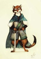 Redwall: Badrang The Tyrant by FairytalesArtist