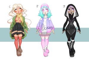 SALE ADOPTABLES! (0/3 Available) by likeocean
