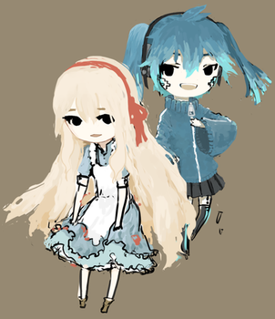 Marry And Ene by gooygreen