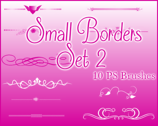 PS Small Borders Set 2 by Illyera