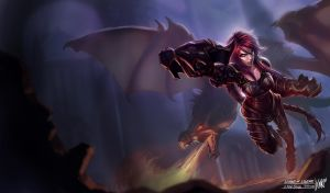 LoL - Ironscale Shyvana by KNKL