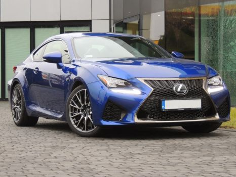 Lexus RC F by FrogsterPL