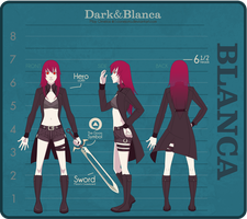 Character Sheet - Blanca by MayOrnelas