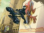 Times Square Spidey- Andrea by SpiderGuile