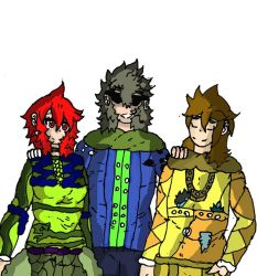 Main characters group (OC) by Goestar