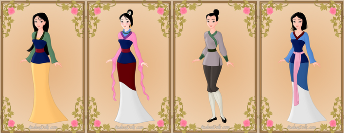 Mulan by GingerLass0731