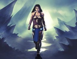 Gina Carano - WW by AldoRaine13