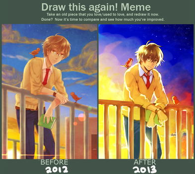 Progress meme by ShiroNiji