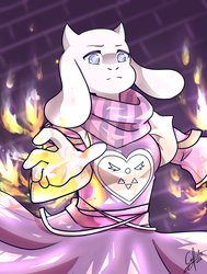Toriel by Calista-222