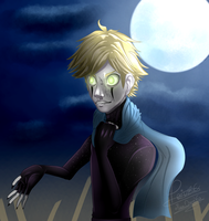 Simulacrum Adrien Akumatized (+SP) by moondaneka