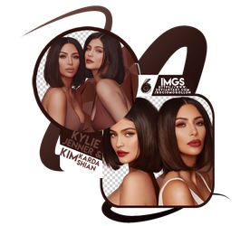 Png Pack 24 | Kylie Jenner and Kim Kardashian | by rociomogollon