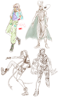 Some sketches by MidiSaya