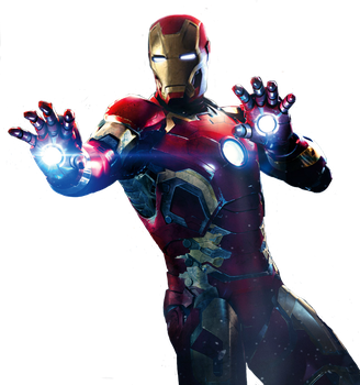 Iron Man Png-Poster Version 2 by Admin-Cap