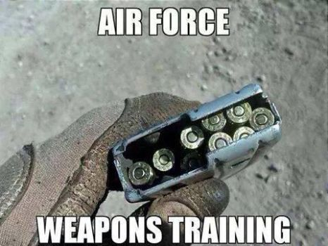 Airforce Wepon Traning. by TheFunnyAmerican