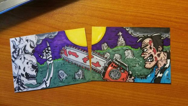 A couple of groovy sketch cards! by Stackpo