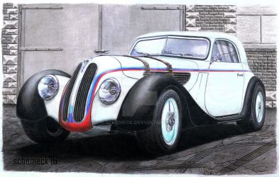 BMW 327 M-Power '39 my concept car. by schemeck