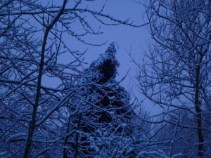 THE HORROR - Snowy Cantankerous Old Witch FACELESS by SrTw