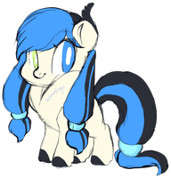 Cutie Pon Adopt+2 extra art pieces and alt colorsX by axolotlshy