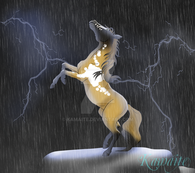 Dancing with the elements by Kamaite