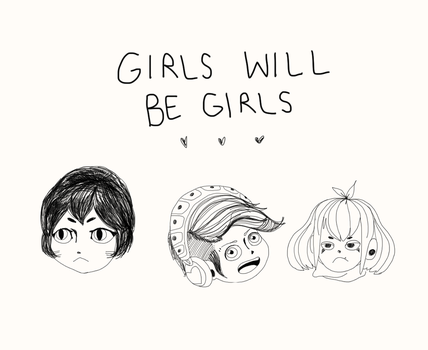Girls Will Be Girls by redrumprince