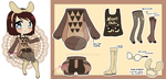 OUTFIT Adopt - Noctowl (OPEN) by DesireeU