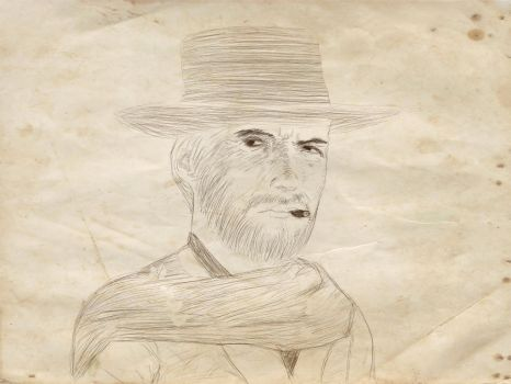 The Man with no Name -Sketch- by Narkomanden