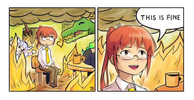 Life With Dragons by Dave-Shino