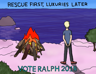 (English class project) Vote Ralph 2018 by anahbois