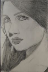 portrait practice.. number 2 by Tikiman1000
