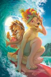 Surf And Sun by GoldenDruid