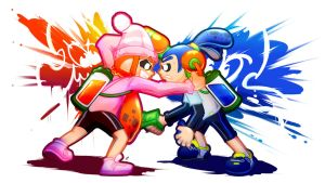 Splatoon Contest Entry by PepVerbsNouns