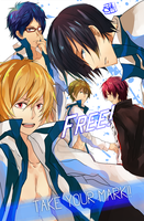 FREE! - Swimming Anime by Saiko-Akarui