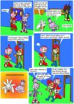 Belated Christmas Comic part 1 by Wakeangel2001
