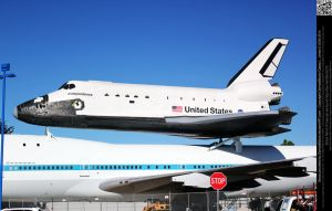 NASA Independence Space Shuttle - STOCK by DamselStock