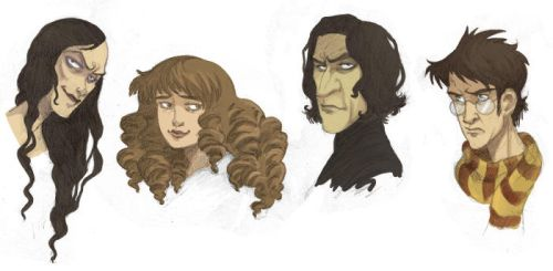 'Harry Potter' Portraits by kyla79